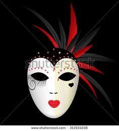 Harlequin Clown Mask Stock Photos Images & Pictures | Shutterstock