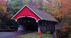 New Hampshire's covered bridges (Related Reading: The Corbin Covered Bridge by Sharon Holm Christie)