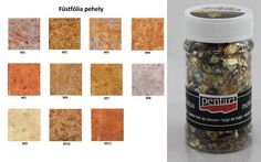Kreatív Hobby - Füstfólia pehely, kevert M3 100 ml
