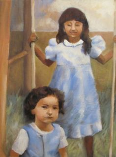 "Work in progress, oil on canvas, ""two children"" - Nicole Lane @nicolelaneart #nicolelaneart http://www.NicoleLaneArt.com"
