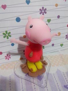 Peppa Pig  12cm de altura.