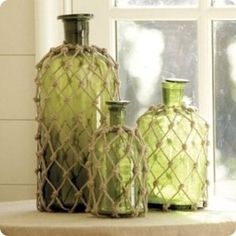 Nautical Decor | Bottles