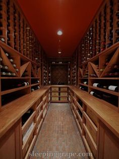 mediterranean wine cellar by Rollin Fox, Sleeping Grape Wine Cellars