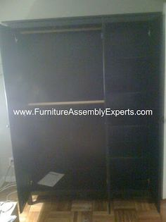 ikea Hemnes Wardrobe assembled in Washington DC by Furniture Assembly Experts company