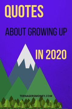 Growing up can be hard, it's even harder now that 2020 has been such a gong show. You've got to check out the top quotes about growing up in 2020. #2020 #quotes #quotesaboutlife #lifequotes #growingup Top Quotes, Best Quotes, Life Quotes, Growing Up Quotes, College Survival, Advertise Your Business, Business Quotes, Life Hacks, About Me Blog