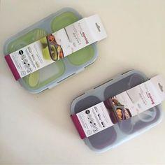 #lunchbox  o lo que es lo mismo #tupper #lunchera  Es genial!!! Hermético, plegable, higiénico, incluye cubiertos y recipiente para condimentos. Libre de BPA.  Me encanta