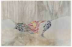 Title: I don't want to get over you, 2013, Medium: Watercolour, drawing on board, ...belinda fox