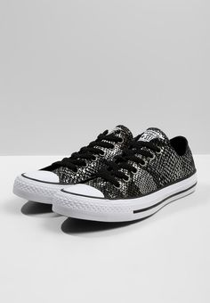 CHUCK TAYLOR ALL STAR FASHION SNAKE - Sneaker low - black white    Zalando.de 🛒 95d911c5a