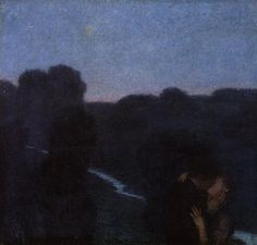 Evening Star - Franz Stuck
