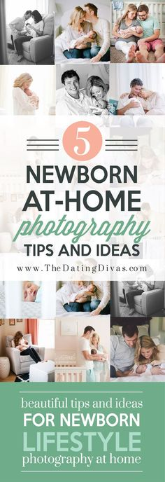 Adorable At Home Newborn Lifestyle Photography Ideas