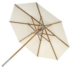 Atlantis Garden umbrella by Skagerak - Relaxing on hot days becomes more pleasant when you can hide from the sun under a spacious umbrella. Atlantis by Skagerak will not only provide you Atlantis, Hammock Cover, Making A Bench, Garden Parasols, Walking The Plank, Take Shelter, Danish Design Store, Sustainable Furniture, Metal Pipe