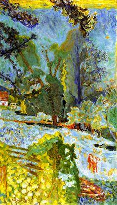 Norman Landscape Pierre Bonnard - 1920
