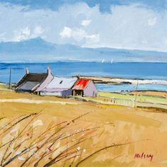 Farm Buildings, Isle of Iona by Robert Kelsey