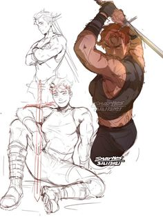 Fantasy Character Design, Character Drawing, Character Design Inspiration, Character Concept, Concept Art, Drawing Reference Poses, Drawing Poses, Art Reference, Dnd Characters
