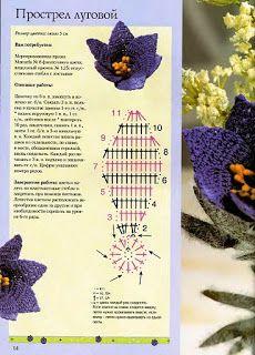 Crochet Mania: Flores Crochet - (Journals)