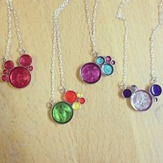 Sterling silver metal with nail polish & clear resin. **NOTE** Please contact with the color(s) you would like!