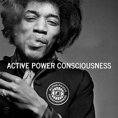 Active Power Consciousness Circle Sticker
