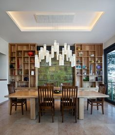 Tanzania Chandelier - contemporary - dining room - new york - Shakúff Contemporary Dining Room Lighting, Contemporary Chandelier, Chandeliers Modern, Coastal Lighting, Modern Contemporary, Dining Room Light Fixtures, Ceiling Light Fixtures, Kitchen Lighting, Ceiling Lighting