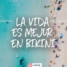 #Playa #Frases #Bikini #Vida