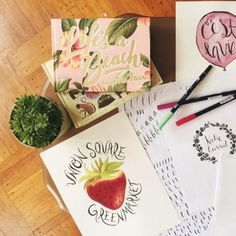 Learn calligraphy & lettering with our guide to the best resources, supplies and inspiration for beginners!