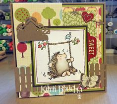 Kerri has Friendly Surprise from Penny Black for you.  Join the fun with our Krafty Challenge this month.