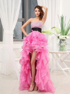 #dress#prom#pink#fashionable#cute#laff♥♥