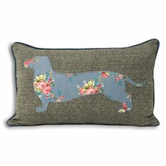 dwell - Sausage dog cushion - £17.95