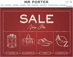 A large #collection of #Men's #Piece now on #Sale at #MrPorter! Shop and order here.