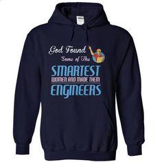 God Made Engineers! - #denim shirts #cool hoodie. BUY NOW => https://www.sunfrog.com/LifeStyle/God-Made-Engineers-NavyBlue-Hoodie.html?id=60505