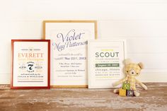 @Kindertype products feature beautiful typography, fun graphics, and fresh colors with a retro flair. #PNapproved