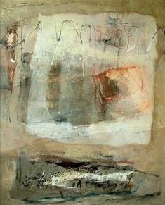 Home by Maria Balea  Mixed media on canvas
