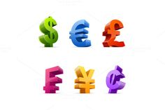 Check out Currency symbols by vasabii on Creative Market