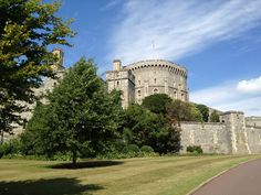 Windsor Castle! The Queen wasn't home that day, but my what a home she has!