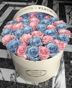 """A play on Rose Quartz and Serenity -  Pantone 2016"" from VENUS ET FLEUR ♡♥♡♥♡♥"