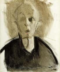 Helene Schjerfbeck - sindssygt smukke selvportrætter en masse