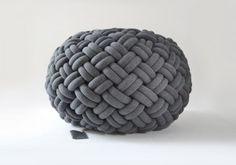 knotty floor cushion by ku me ko