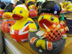 British rubber ducks