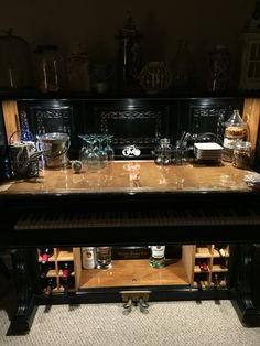 1898 worthless piano turned into a piano bar