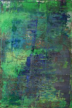 """Koen Lybaert; Oil 2013 Painting """"abstract N° 782"""""""