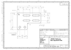 Component detail drawing