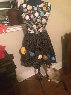 Image result for circle skirt solar system