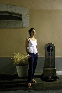 CONCRETIONS 03 - Pia Farrugia | tank top : cotton, epoxy | piafarrugia.ch