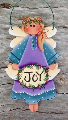Holiday Joy Ornament | Etsy