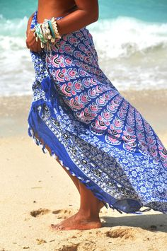 4d87c30ed3 Beach Sarongs/Scarves/Shawl fringes/Boho/ Beach cover up/pareo sarong wrap/Swimsuit  cover up * BOHO SARONG