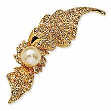 The Jacqueline Kennedy Collection Flourish Pin