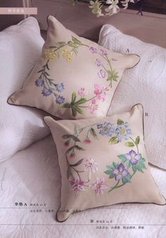 Japanese Embroidery Sashiko Wild Flowers Collection, Japanese Craft Book PDF in Chinese, Botanical Patterns Wild Flower Embroide - Cushion Embroidery, Sashiko Embroidery, Crewel Embroidery, Hand Embroidery Patterns, Vintage Embroidery, Embroidery Kits, Machine Embroidery, Flower Embroidery, Embroidery Books