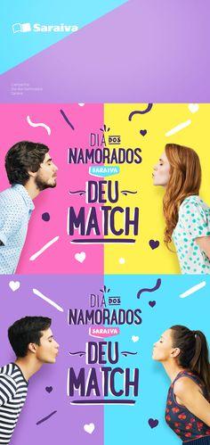 Campanha Dia dos Namorados para Saraiva