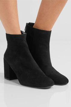 Stuart Weitzman - Bacari Suede Ankle Boots - Black - IT35.5