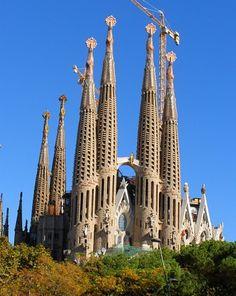La Sagrada Familia Church, Barcelona