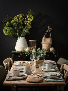 〚 Stunning novelties by Maisons du Monde 〛 ◾ Photos ◾Ideas◾ Design Bar Interior Design, Best Interior, Magazine Deco, Look Retro, Deco Table, Scandinavian Design, Table Settings, Dining Room, Pottery